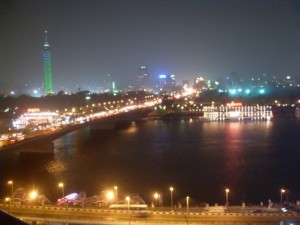 View out of my hotel room at the 2009 International Masters in Cairo