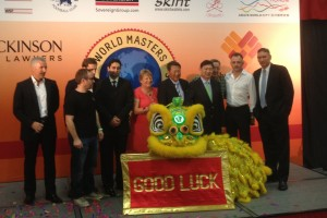 Opening Ceremony at the World Masters in Hong Kong