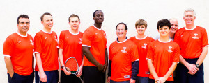 The Harlem Squash Trotters team